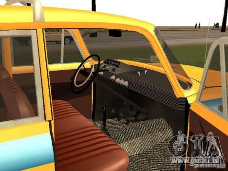 IZH 412 GAI pour GTA San Andreas vue de droite