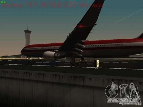 Boeing 767-3G5ER LTU Airways pour GTA San Andreas vue de côté