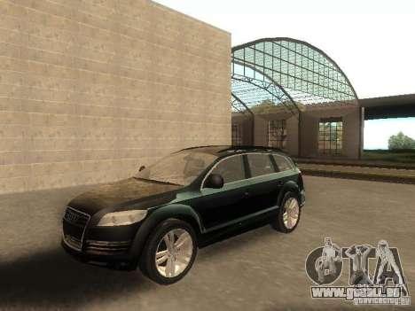 Audi Q7 TDI Stock für GTA San Andreas