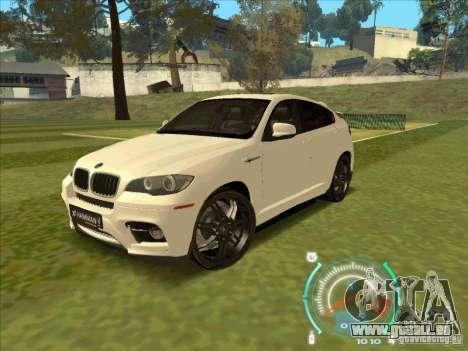 BMW X6 M Hamann Design für GTA San Andreas