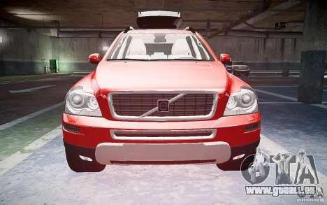 Volvo XC 90 pour GTA 4 est une vue de l'intérieur