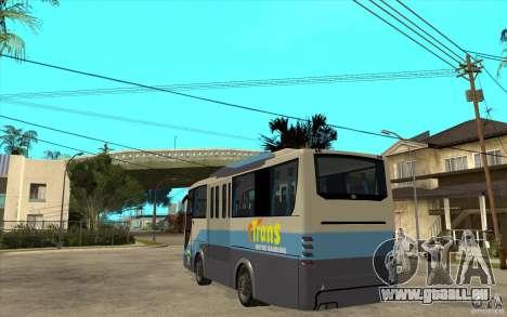 Hino Evo C für GTA San Andreas zurück linke Ansicht
