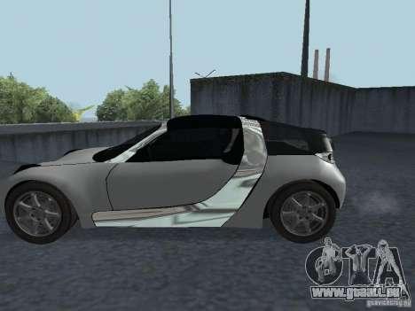 Smart Roadster Coupe für GTA San Andreas rechten Ansicht