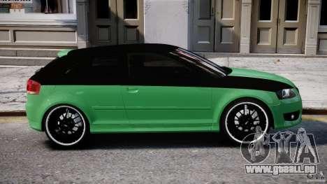 Audi S3 pour GTA 4 est une vue de dessous