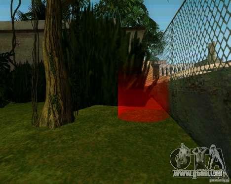 Pommier pour GTA San Andreas deuxième écran