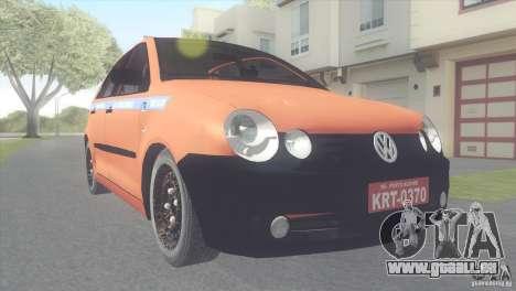 VW Polo Taxi de Porto Alegre für GTA San Andreas