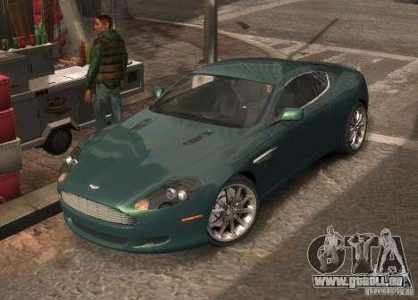 Aston Martin DB9 2008 v 1.0 für GTA 4 Innen