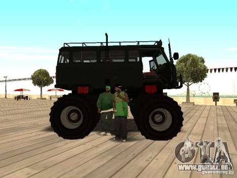 Uaz Monster pour GTA San Andreas vue de droite