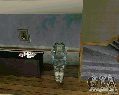 Džagiraut de Cod MW 3 pour GTA San Andreas quatrième écran
