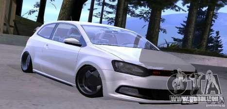 Volkswagen Polo GTI Stanced für GTA San Andreas