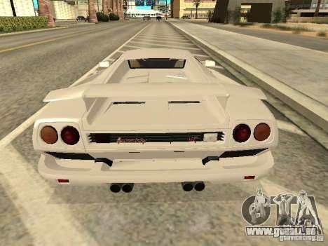 Lamborghini Diablo VT 1995 V2.0 pour GTA San Andreas vue de droite
