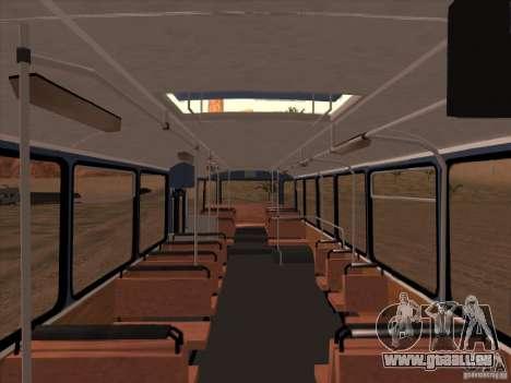 Nouveaux scripts pour les autobus. 2.0 pour GTA San Andreas troisième écran