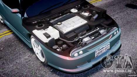 Fiat T20 Coupe pour GTA 4 Vue arrière