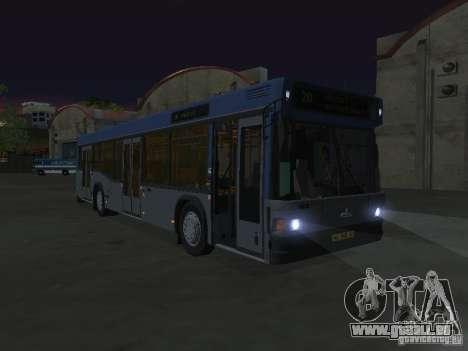 MAZ 103 pour GTA San Andreas vue intérieure