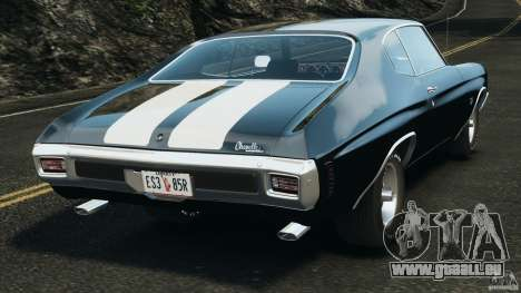 Chevrolet Chevelle SS 1970 v1.0 pour GTA 4 Vue arrière de la gauche