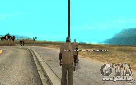 Die Bestechung für GTA San Andreas zweiten Screenshot