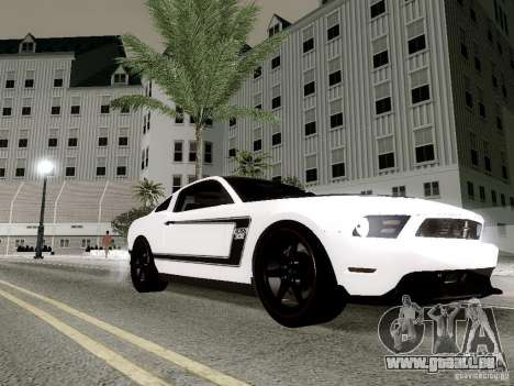 ENBSeries by Shake pour GTA San Andreas quatrième écran