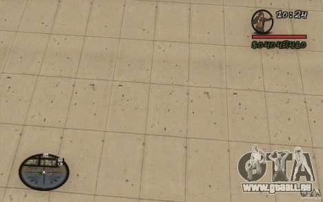 HUD aus M0r1s für GTA San Andreas