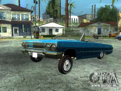 Chevrolet Impala 1964 (Lowrider) pour GTA San Andreas