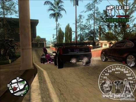 Cadillac XLR für GTA San Andreas rechten Ansicht