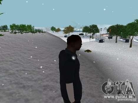 Snow MOD 2012-2013 für GTA San Andreas zehnten Screenshot