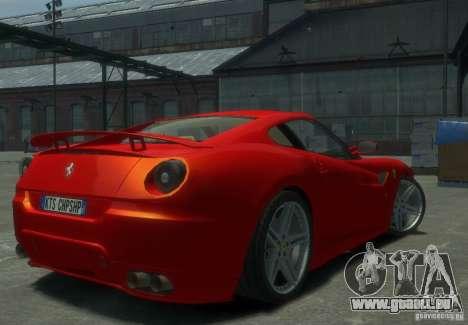 Ferrari 599 GTB Novitec Rosso pour GTA 4 Vue arrière de la gauche