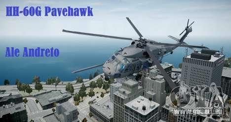 HH-60G Pavehawk für GTA 4