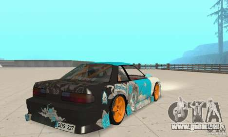 Nissan Silvia S13 NonGrata für GTA San Andreas linke Ansicht