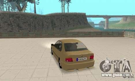 Bmw 528i für GTA San Andreas zurück linke Ansicht