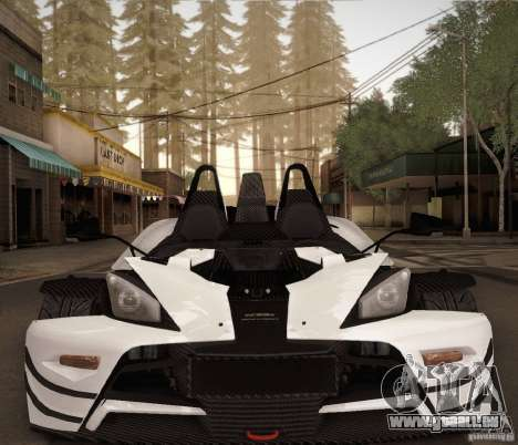 KTM-X-Bow pour GTA San Andreas vue de côté