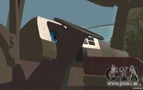 Mercedes-Benz Actros für GTA San Andreas rechten Ansicht