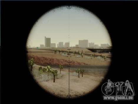 HK PSG 1 pour GTA San Andreas cinquième écran