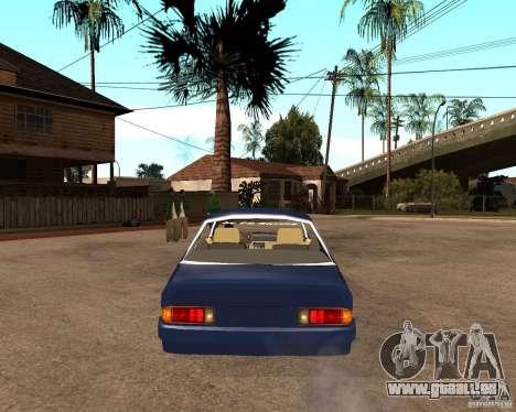 Opel Manta pour GTA San Andreas sur la vue arrière gauche
