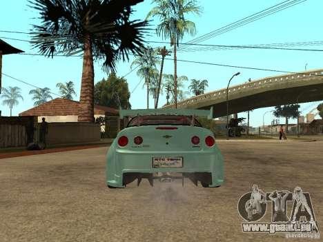 Chevrolet Cobalt SS NFS Shift Tuning pour GTA San Andreas sur la vue arrière gauche