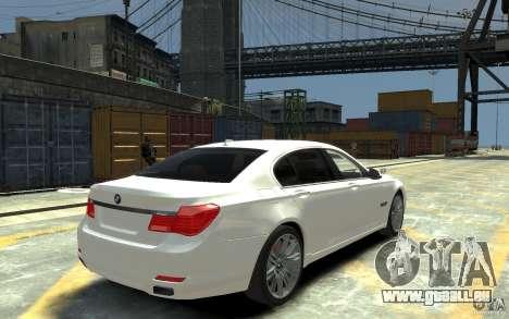 BMW ActiveHybrid 7 2010 pour GTA 4 est un droit