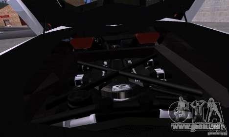 Lamborghini Aventador LP700-4 Final pour GTA San Andreas vue arrière
