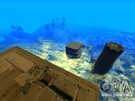 Angle de caméra améliorée V2 pour GTA San Andreas troisième écran
