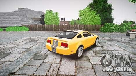 Shelby GT 500 KR 2008 K.I.T.T. für GTA 4 Seitenansicht