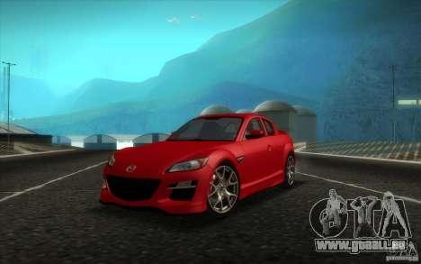 Mazda RX-8 R3 2011 für GTA San Andreas