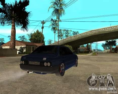 VAZ 21099 Tuning par Danil pour GTA San Andreas sur la vue arrière gauche