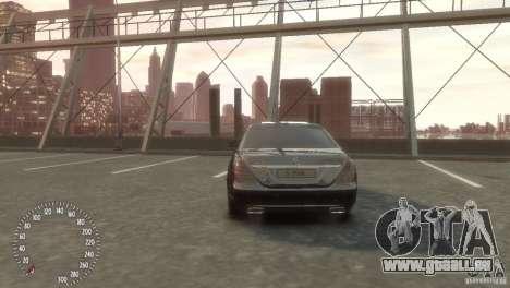 Mercedes-Benz S350 VIP für GTA 4 hinten links Ansicht