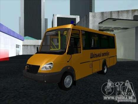 Golaz 3207 pour GTA San Andreas vue intérieure