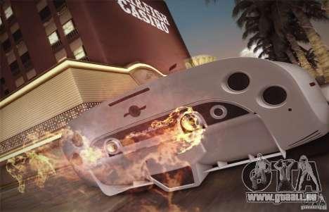 Spyker C8 Aileron für GTA San Andreas Innen