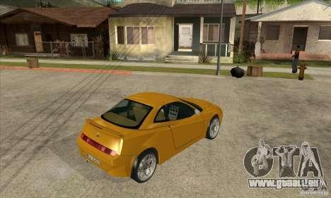 Alfa Romeo GTV pour GTA San Andreas vue de droite