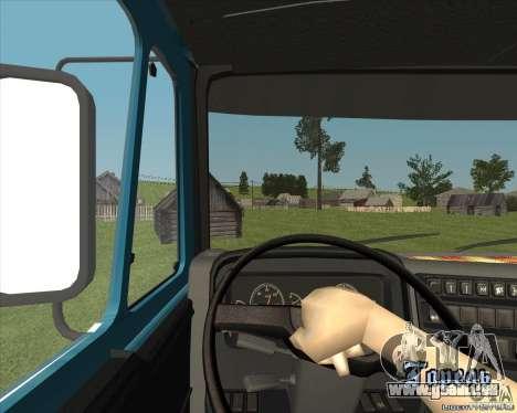 KAMAZ 1840 v2. 0 für GTA San Andreas Rückansicht