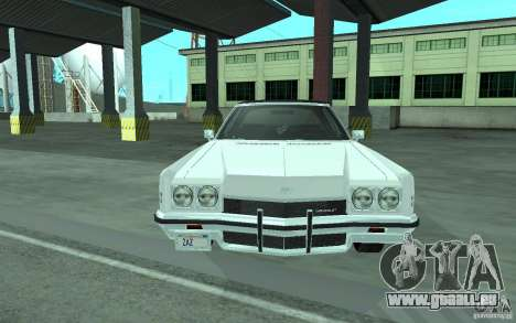 Chevrolet Impala 1972 für GTA San Andreas linke Ansicht
