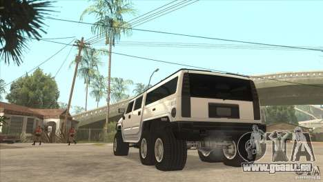 Hummer H6 pour GTA San Andreas