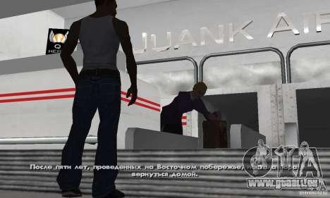 Crack für Steam-Version von GTA San Andreas für GTA San Andreas her Screenshot