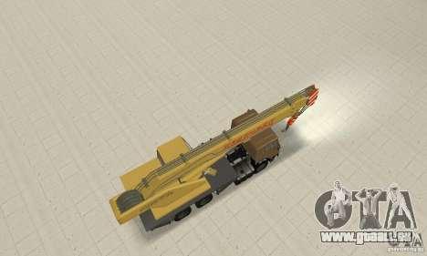 KAMAZ 53213 COP 4572 für GTA San Andreas Rückansicht