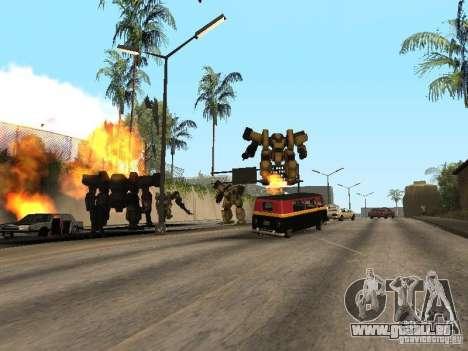 Transformateurs pour GTA San Andreas